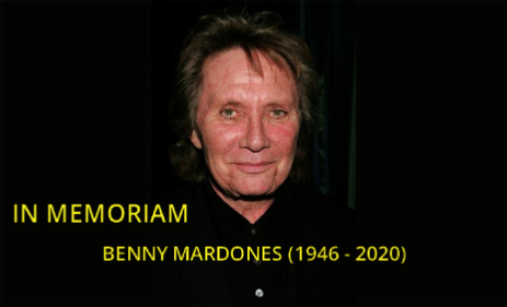 In Memoriam - Benny Mardones (Click for more Info)